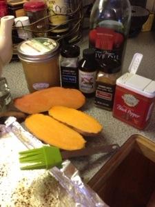 prep for baked sweet potatoes.jpg
