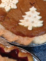 Fancy Pumpkin Holiday Pie