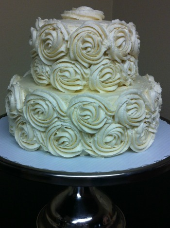 Small Cutting Cake for Wedding