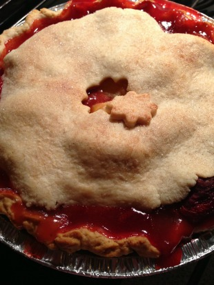 Strawberry Peach Pie